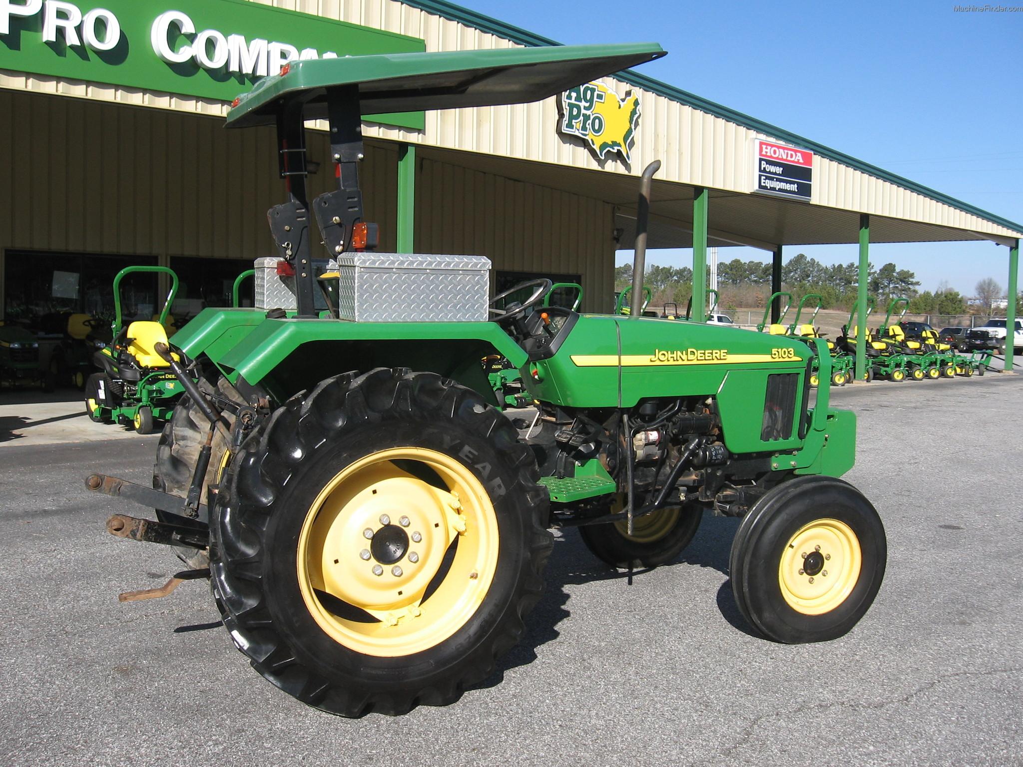 2008 John Deere 5103 Tractors - Utility (40-100hp) - John ...