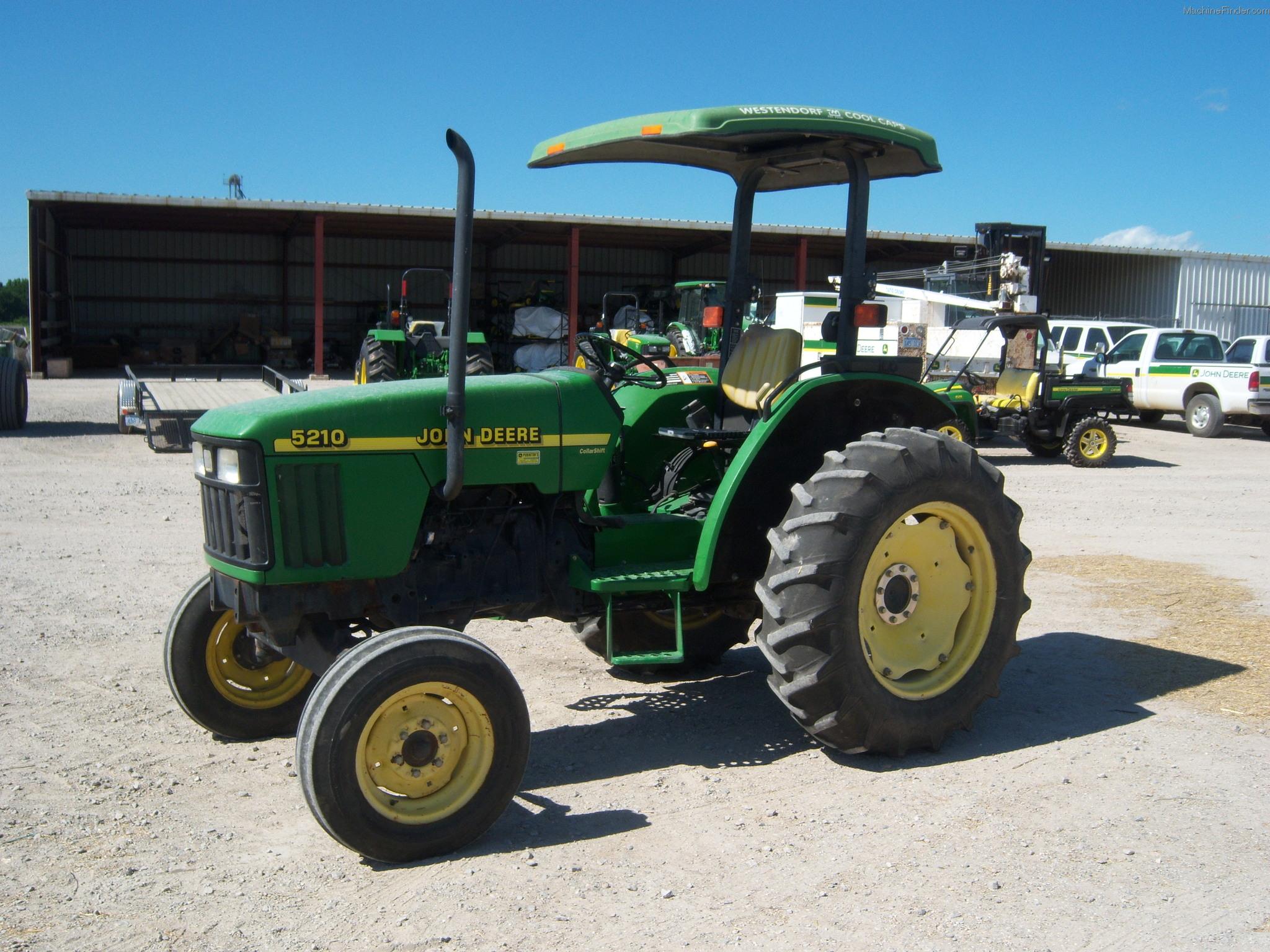 2000 John Deere 5210 Tractors - Utility (40-100hp) - John ...