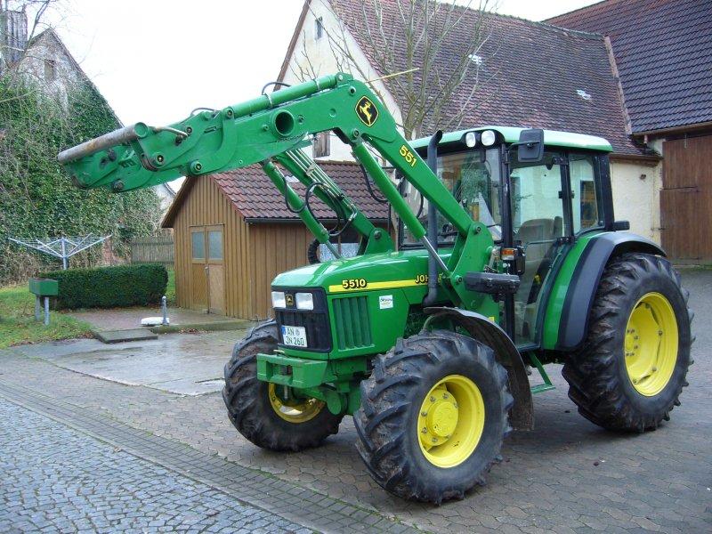 Tractor John Deere 5510 - technikboerse.com