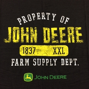 Grey Over sized John Deere Stadium Blankets | WeGotGreen.com