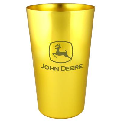 ... Deere > John Deere Housewares > John Deere Yellow Aluminum Tumbler