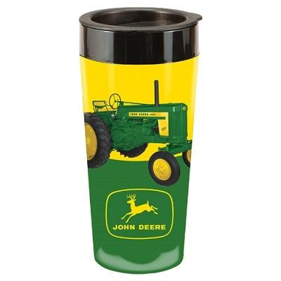 John Deere 16 oz. Tractor Travel Tumbler | WeGotGreen.com