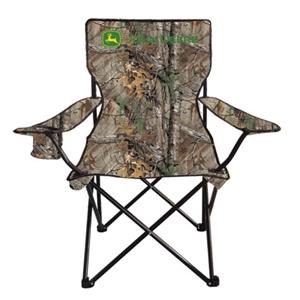 John Deere REALTREE Camo Oversized Folding Camp Chair   WeGotGreen.com