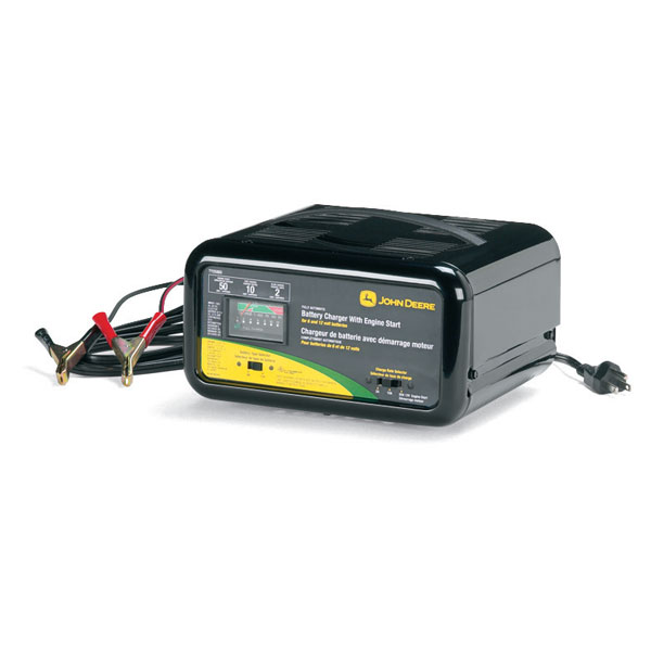 ... > John Deere Automatic Battery Charger with Engine Start - TY25865