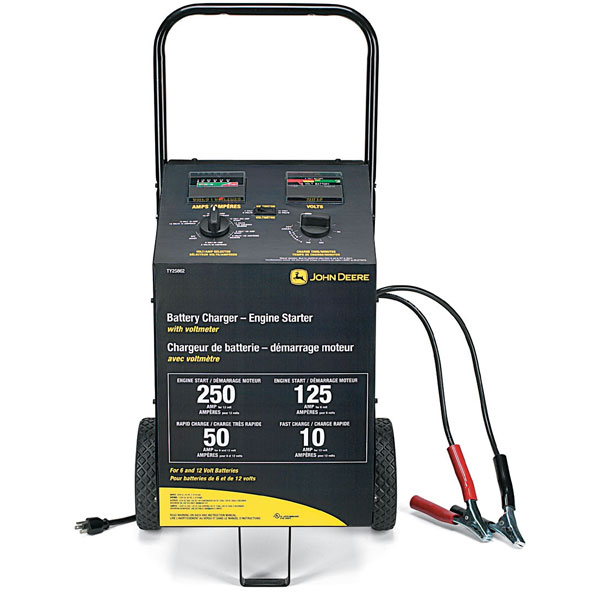 ... Battery Maintenance > John Deere Battery Charger and Engine Starter