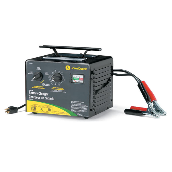 John Deere Manual Battery Charger with Engine Start and Timer ...