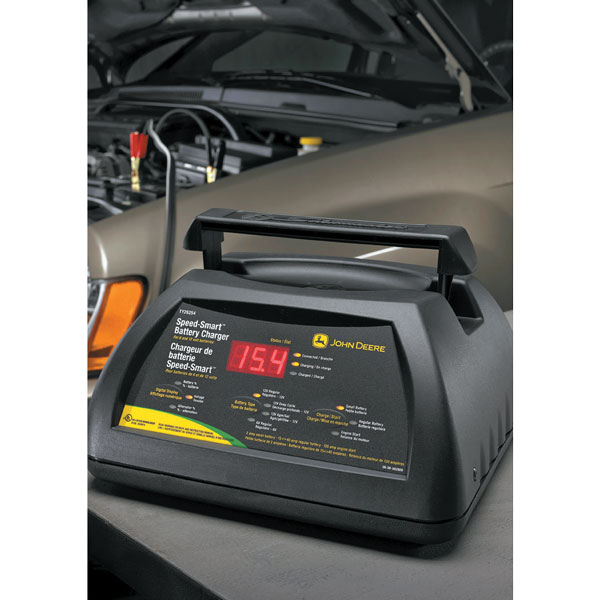 ... > John Deere Speed-Smart Battery Charger with Engine Start - TY26254