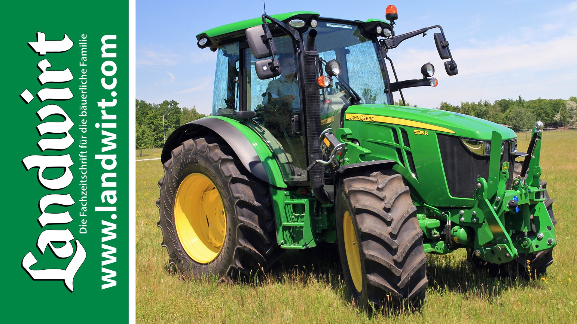 John Deere 5125R | Tractor & Machine
