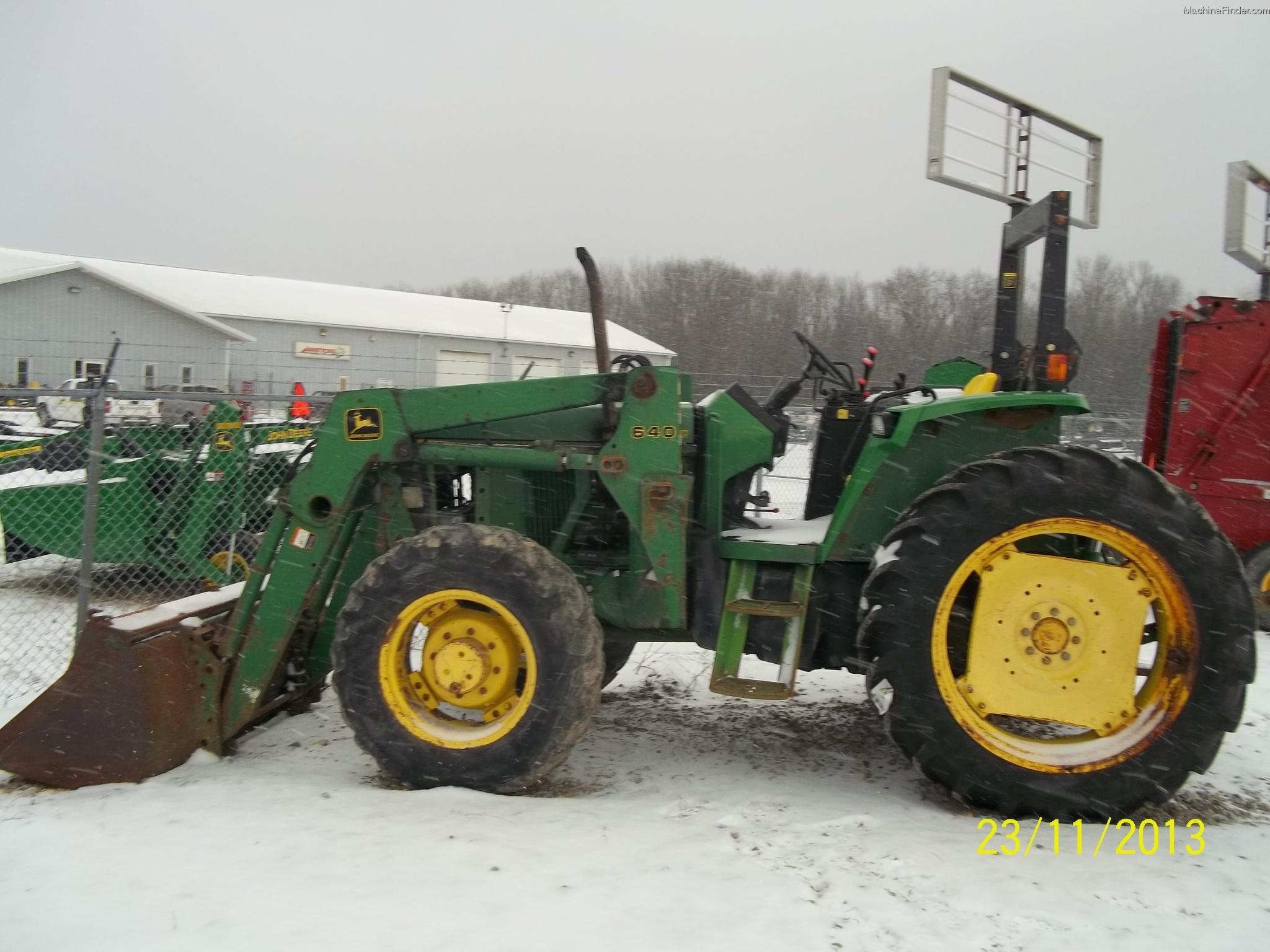 1996 John Deere 6200 Tractors - Utility (40-100hp) - John ...