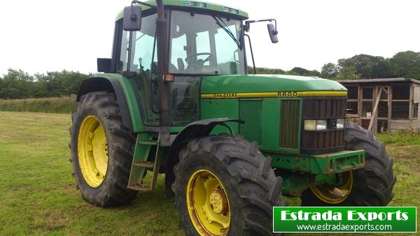 Estrada Exports | JOHN DEERE 6600 TRACTOR 40KMH AIRCON FOR ...