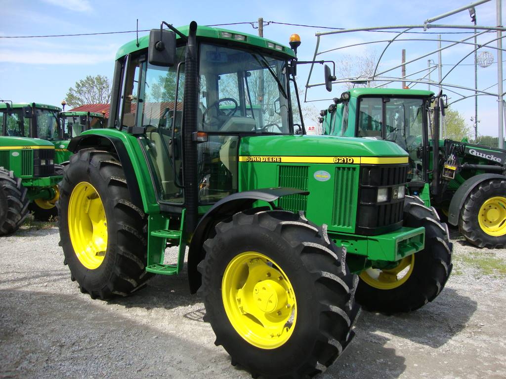 Used John Deere 6210 tractors Year: 2001 for sale - Mascus USA