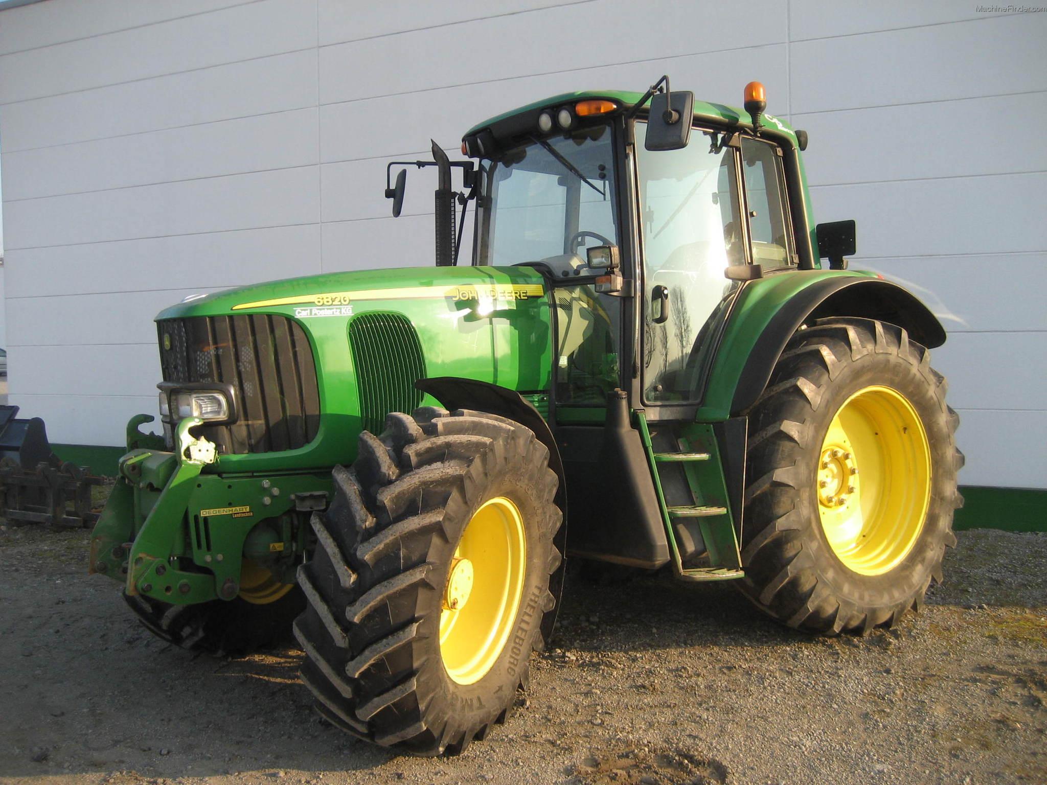 2002 John Deere 6820 Premium - Row Crop Tractors - John ...
