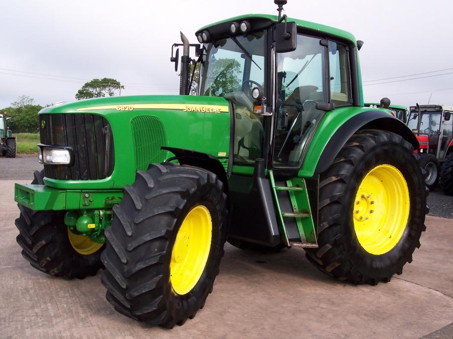 John Lake Tractors - used John Deere 6820 Autopower for ...
