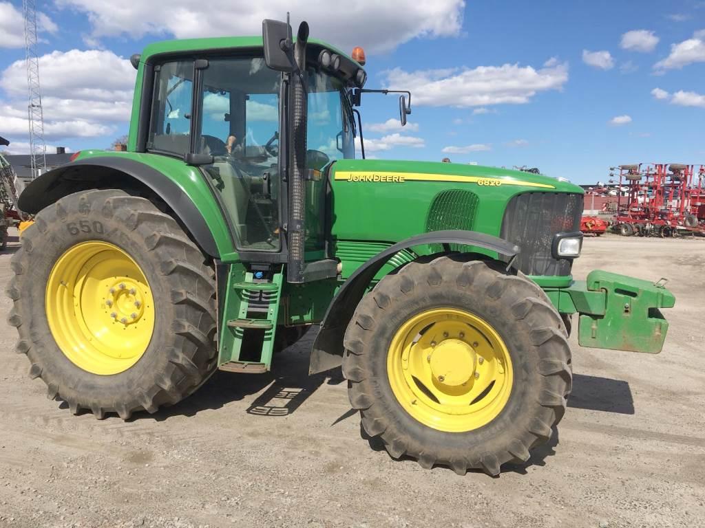 John Deere 6820 - Year: 2006 - Tractors - ID: FAFDDBA1 ...