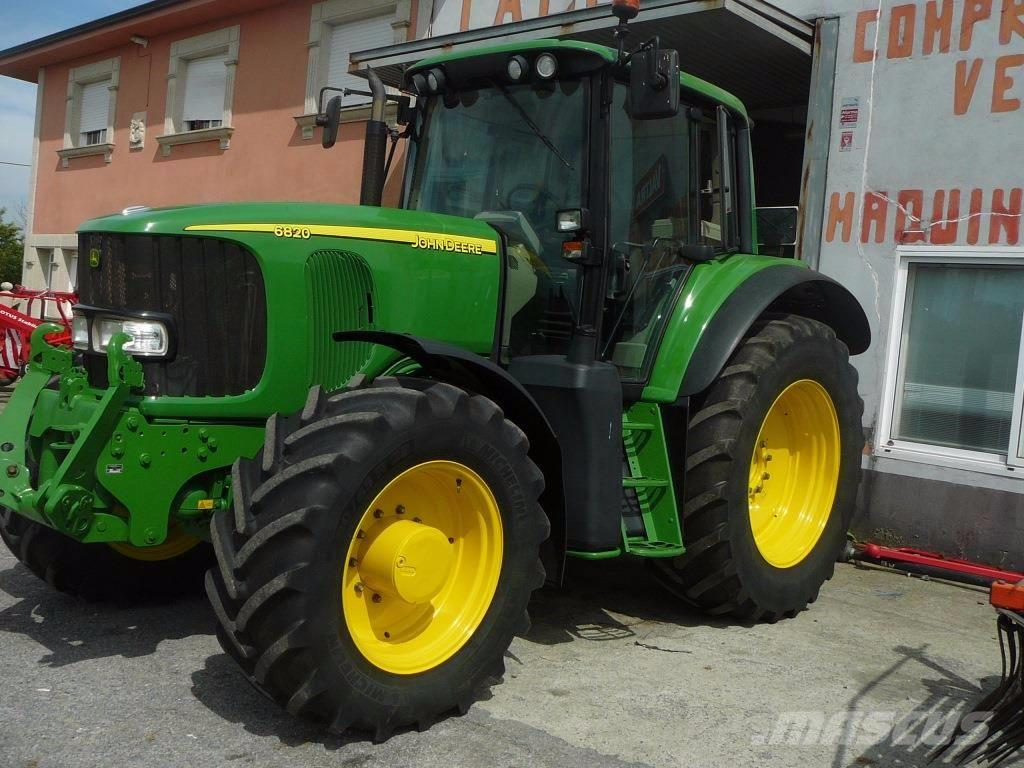 Used John Deere 6820 tractors Year: 2006 for sale - Mascus USA