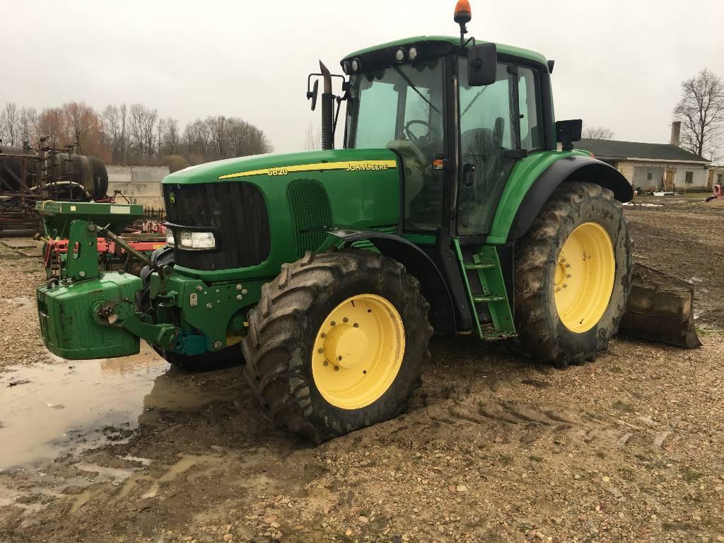John Deere 6820 - Year: 2004 - Tractors - ID: E3980576 ...