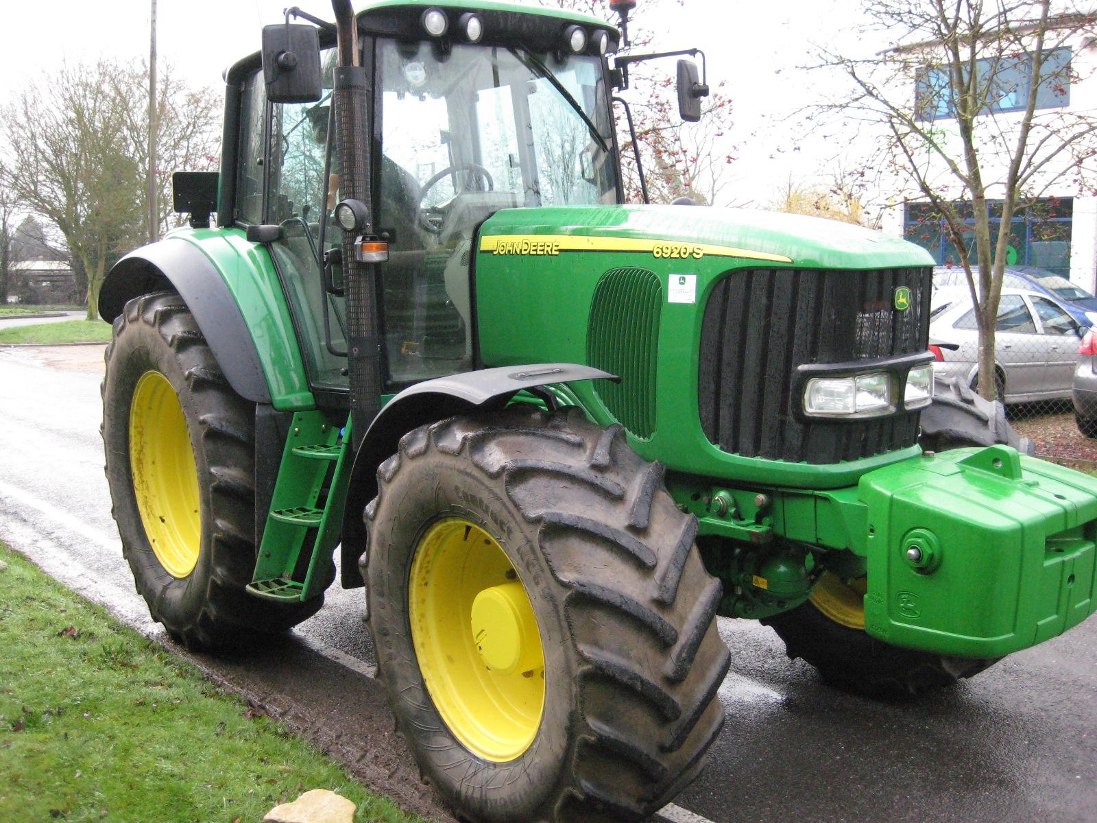 John Deere 6920 4wd Tractor Auto Quad | East Anglian ...