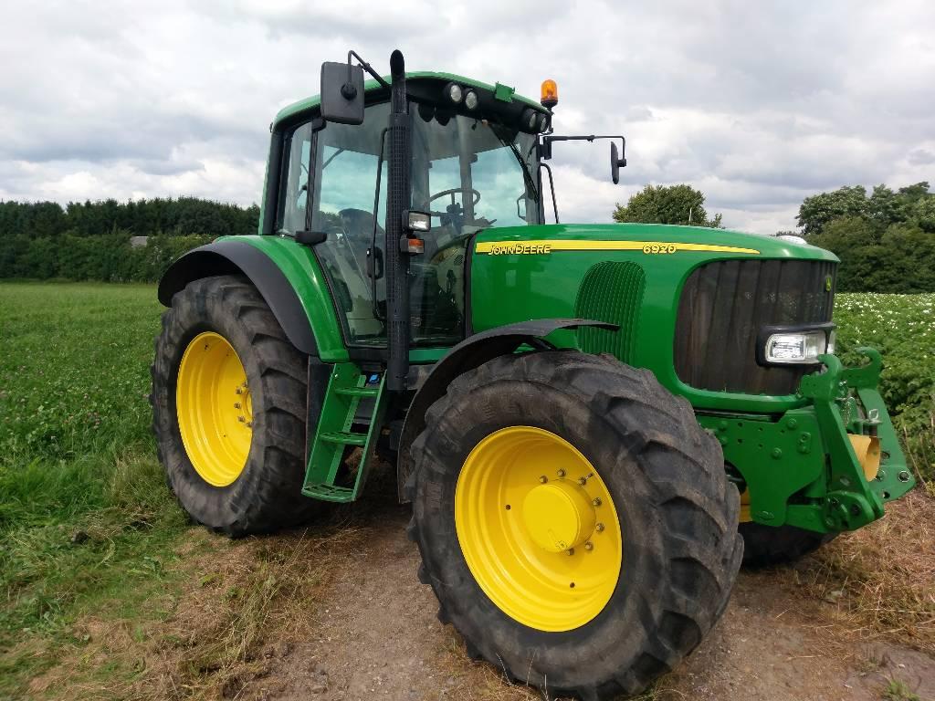 John Deere 6920 - Tractors, Price: £35,798, Year of ...
