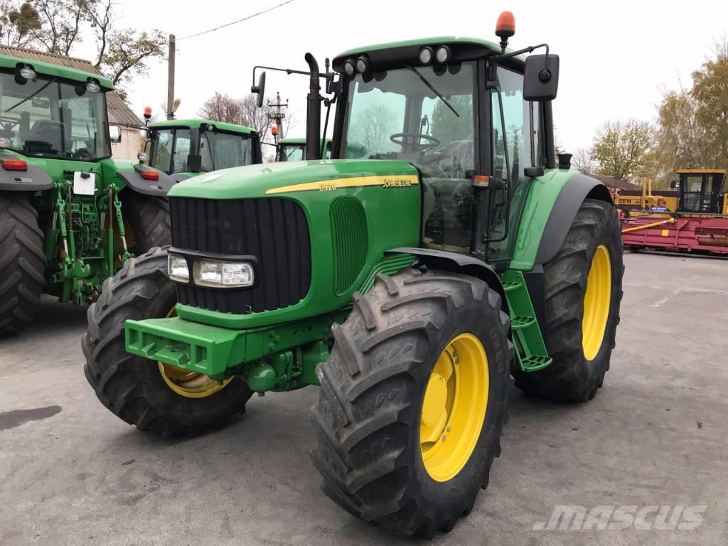 John Deere 6920 - Tractors, Price: £28,964, Year of ...