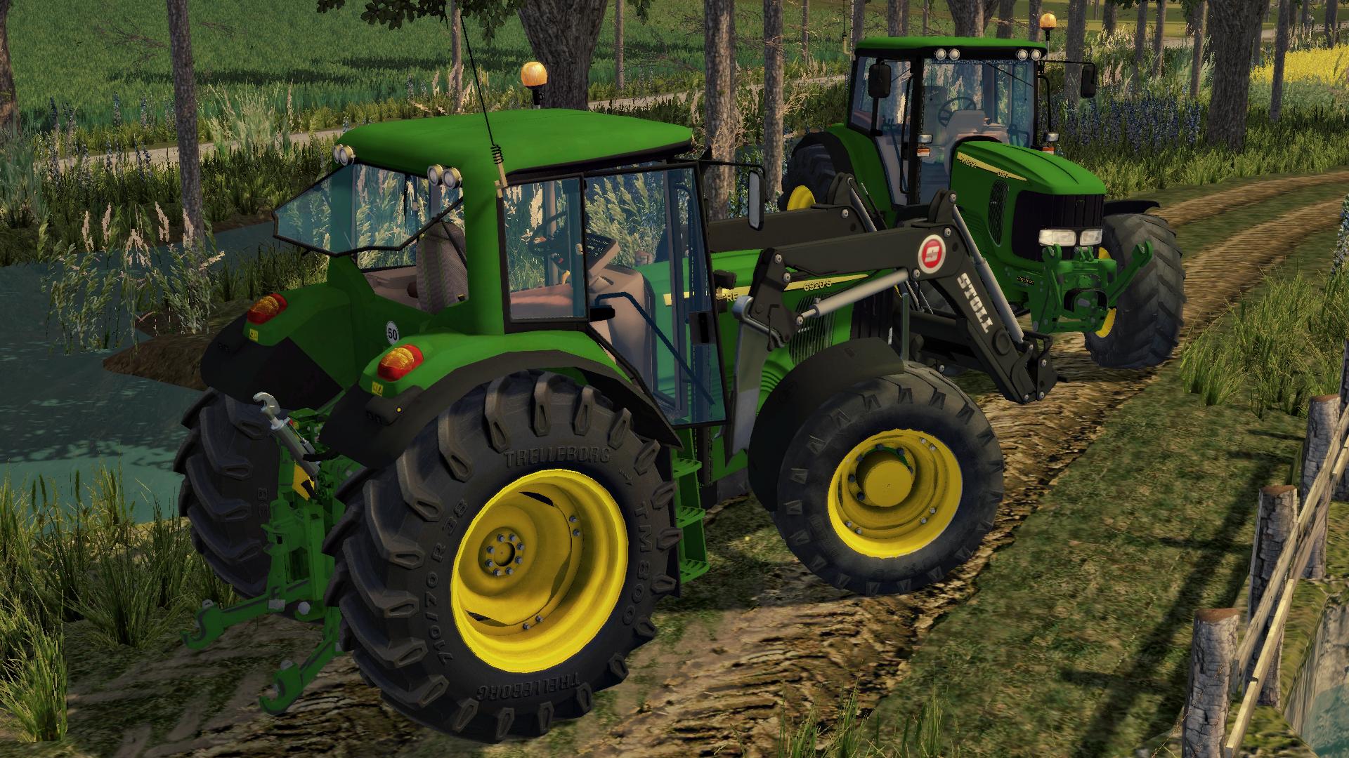 JOHN DEERE 6920S TRACTORS V 2.0 Fs15 - Farming Simulator ...