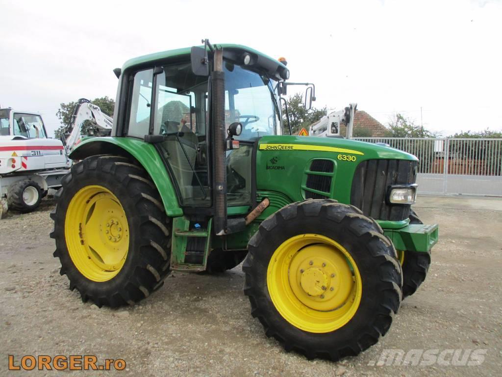 Used John Deere 6330 Premium tractors Year: 2008 Price ...