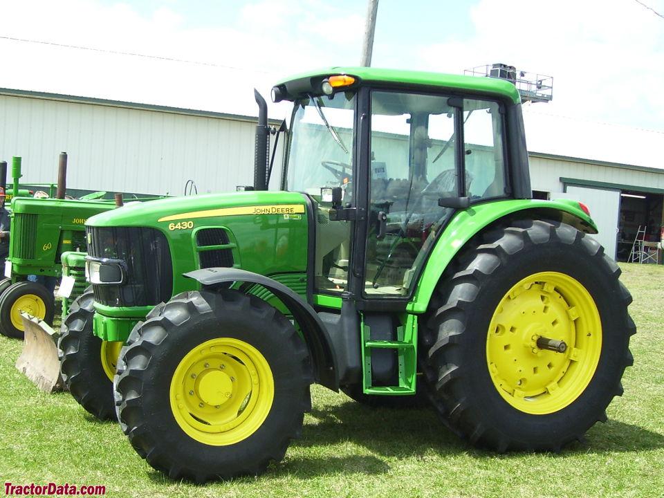 TractorData.com John Deere 6430 tractor photos information