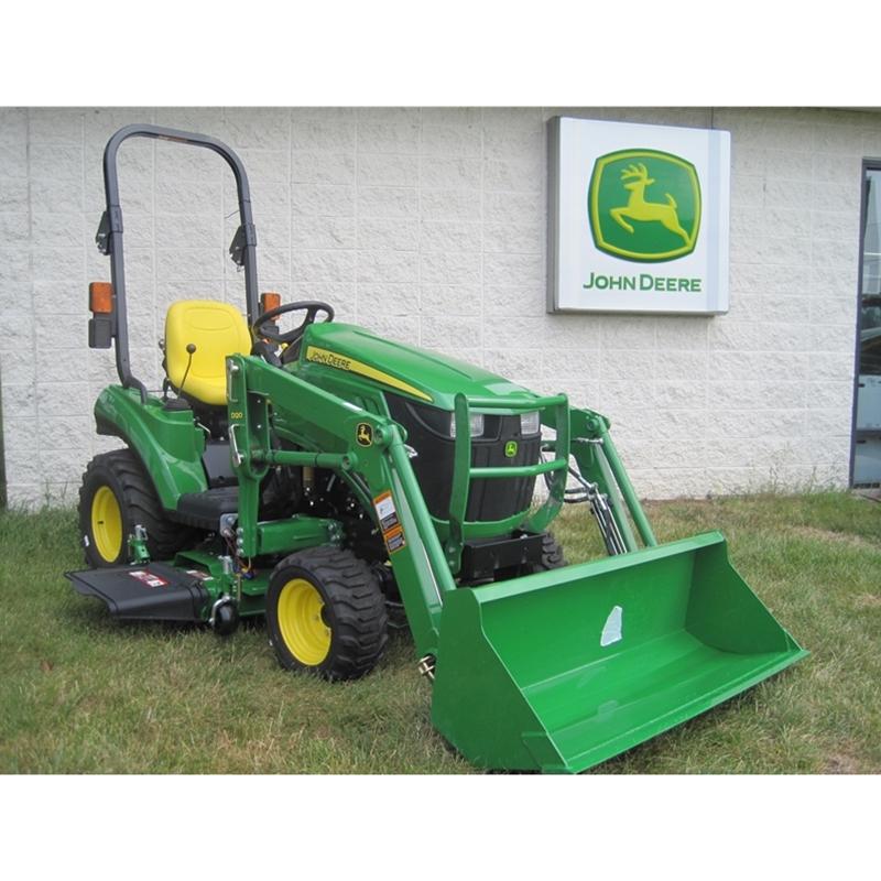 ... Utility Tractors Sub-Compact Utility Tractors John Deere 1023E Sub