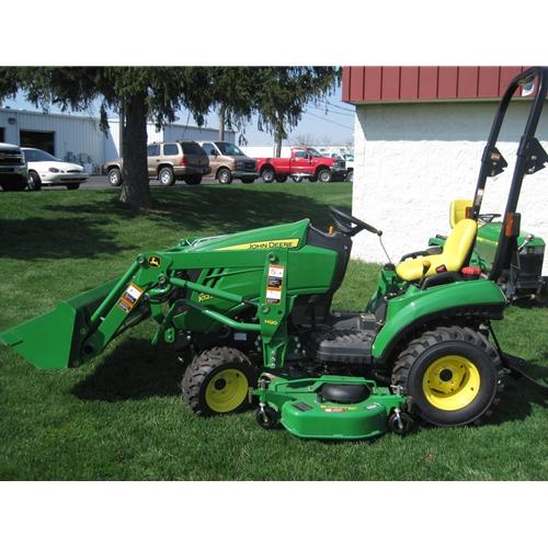 John Deere 1023E Sub Compact Utility Tractor - Major Mower | Lawn ...