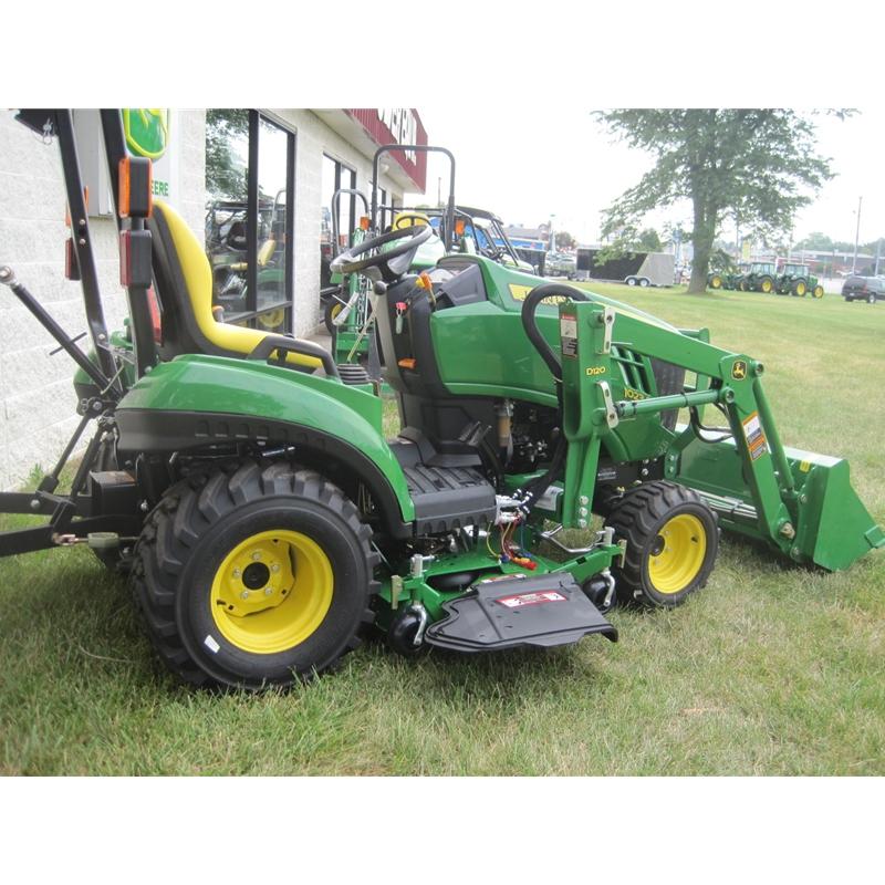 John Deere 1023E Sub Compact Utility Tractor