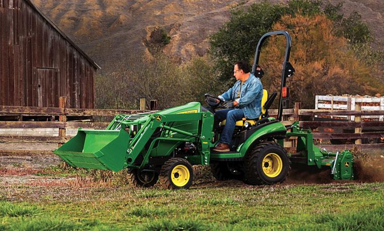 Family Sub-Compact Utility Tractors│ John Deere CA