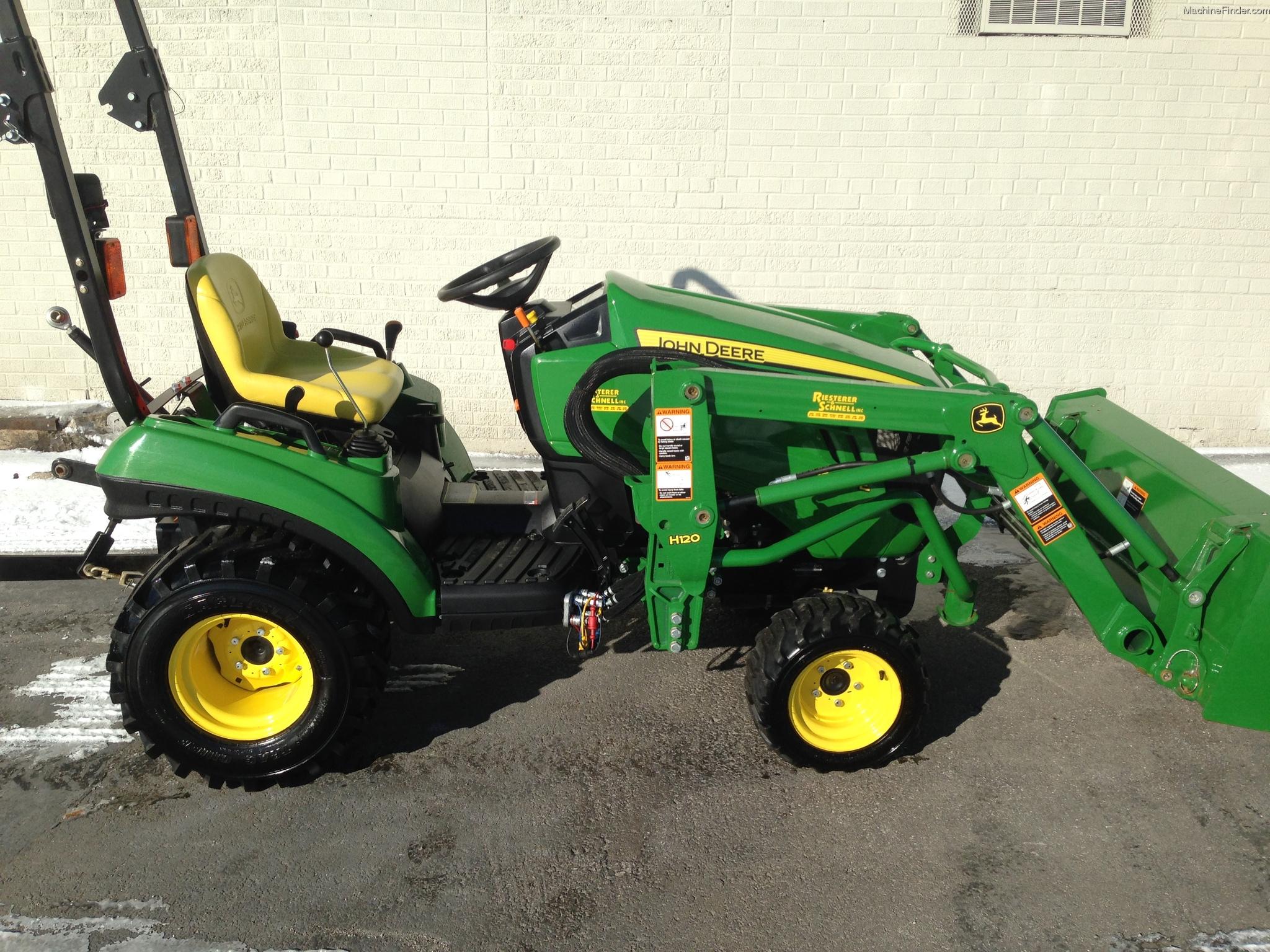 2012 John Deere 1023E Tractors - Compact (1-40hp.) - John ...