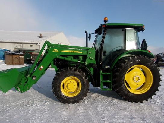 2010 John Deere 6115D Tractors - Utility (40-100hp) - John ...