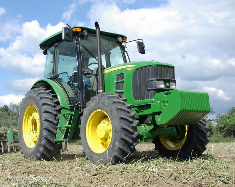 Tractor John Deere 6125D - Maquinac