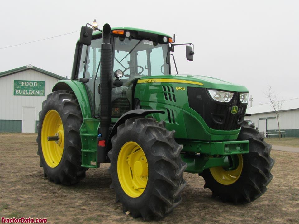 TractorData.com John Deere 6140M tractor photos information