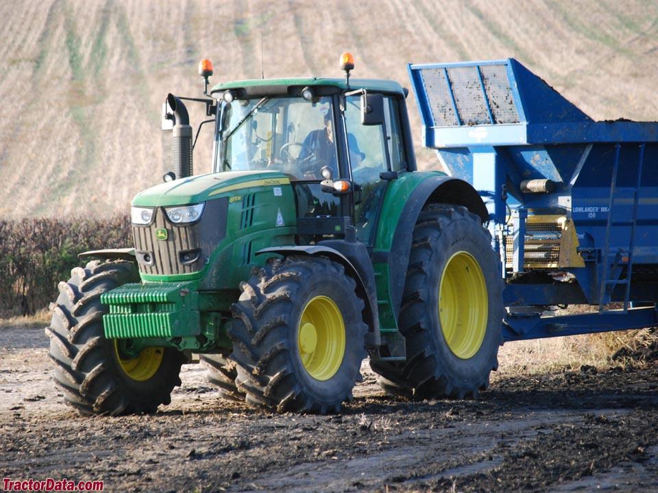 2013 John Deere 6170M Tractors - Row Crop (+100hp) - John ...