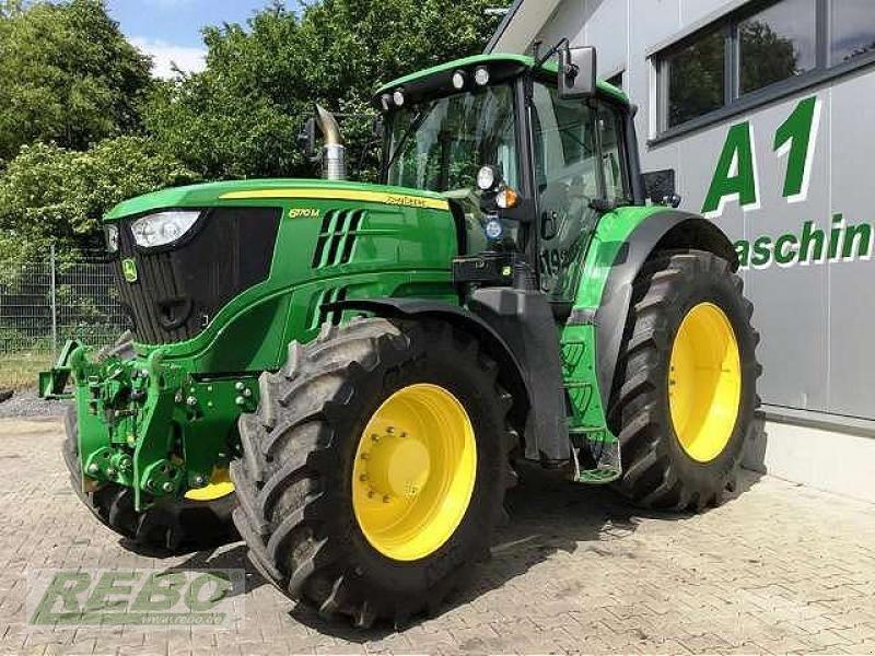John Deere 6170M Tractor - technikboerse.com