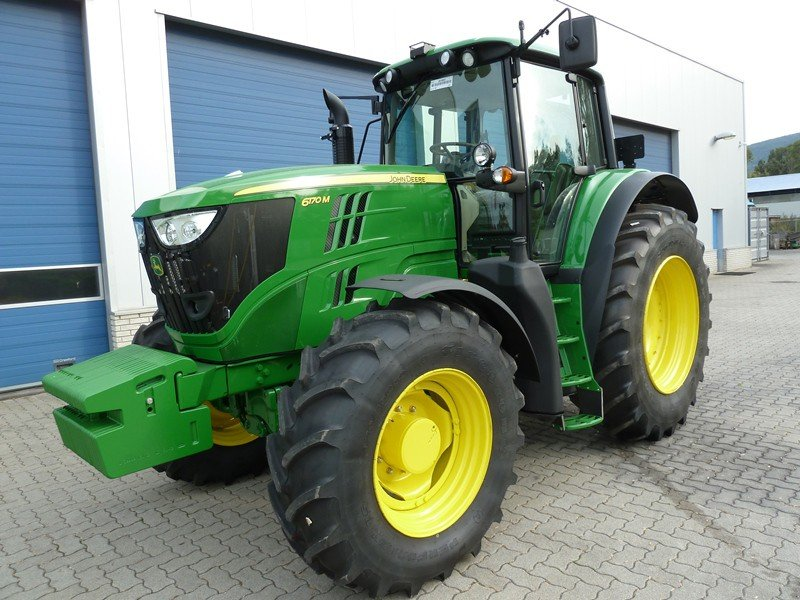 Tractor John Deere 6170M - technikboerse.com