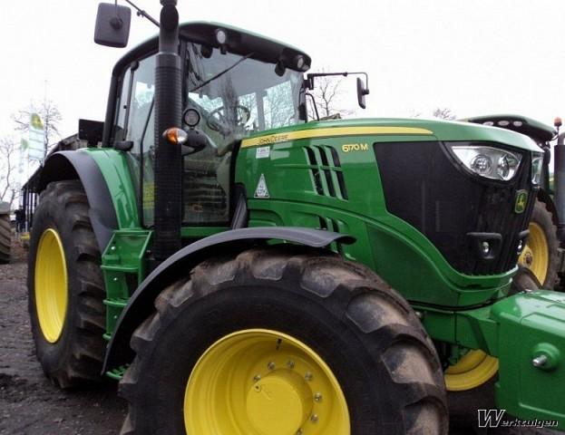 John Deere 6170M - 4wd tractors - John Deere - Machine ...