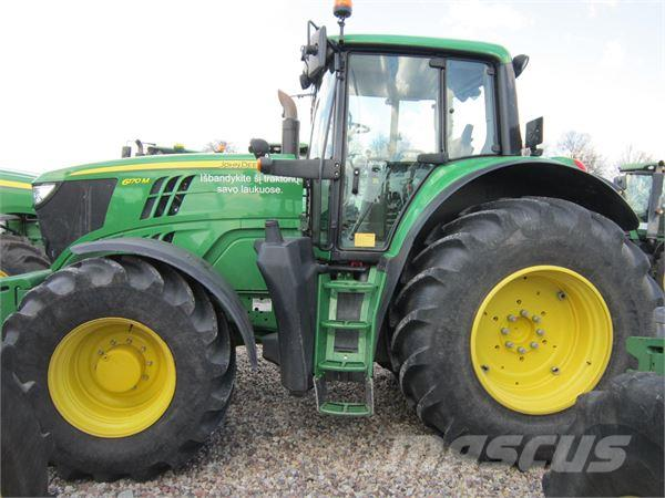 Used John Deere 6170M tractors Year: 2013 Price: $91,767 ...
