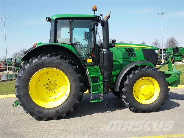 John Deere 6195M - Tractors, Price: £80,181, Year of ...