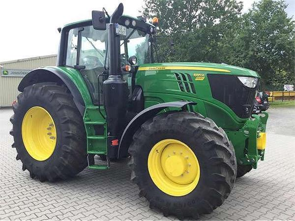 Used John Deere 6195M tractors Year: 2016 for sale ...