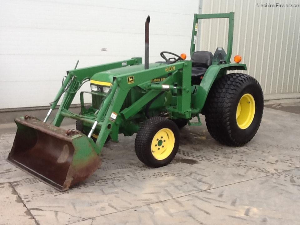 1995 John Deere 970 Tractors - Compact (1-40hp.) - John ...