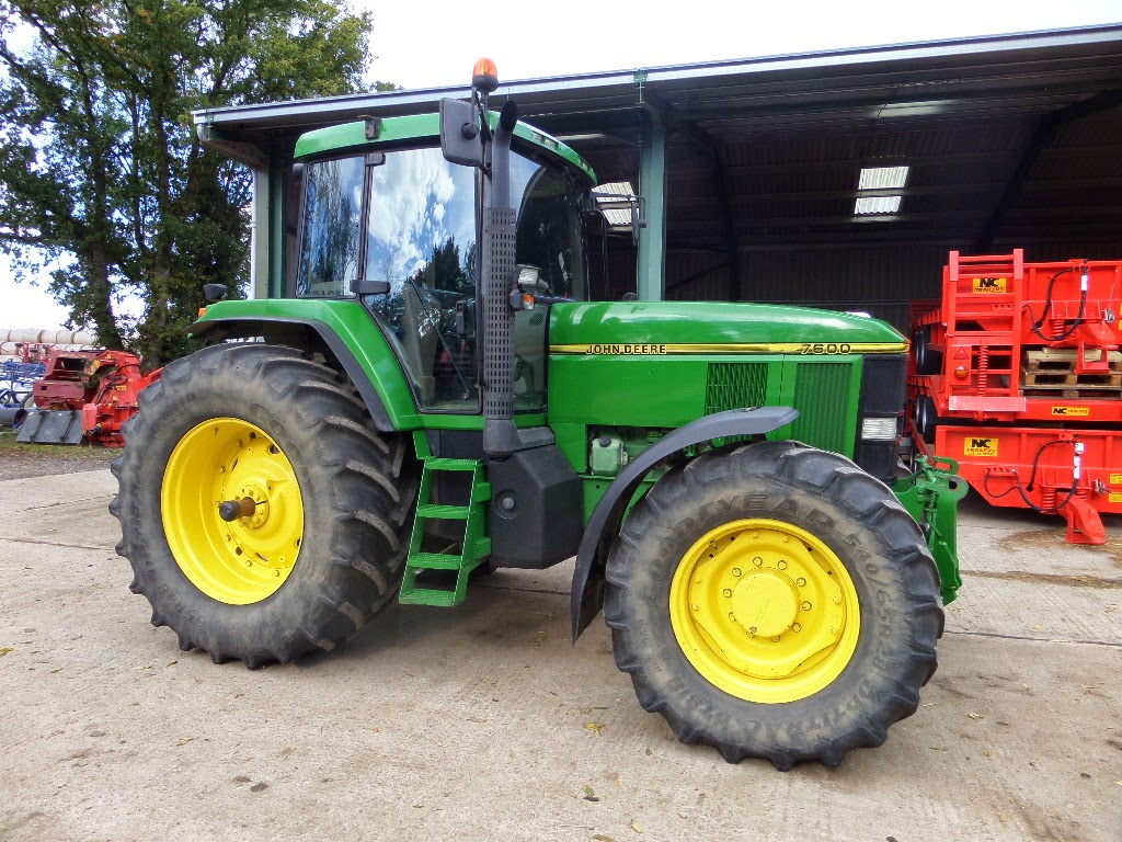 Used Tractors, Machinery and Plant: JOHN DEERE 7600