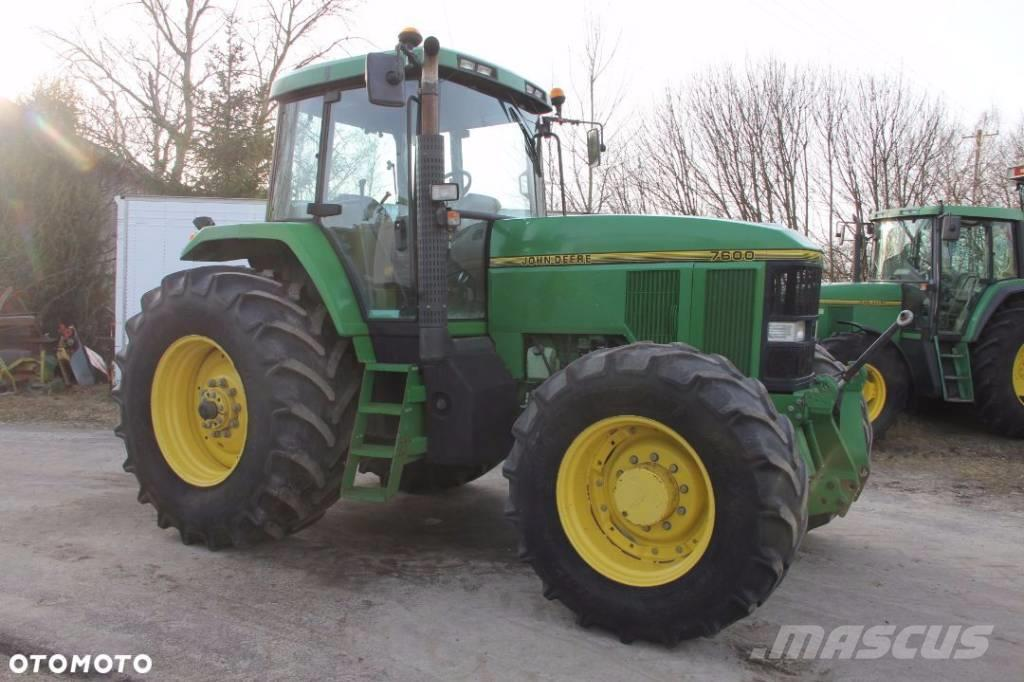 Used John Deere 7600 tractors Year: 1995 Price: $22,243 ...