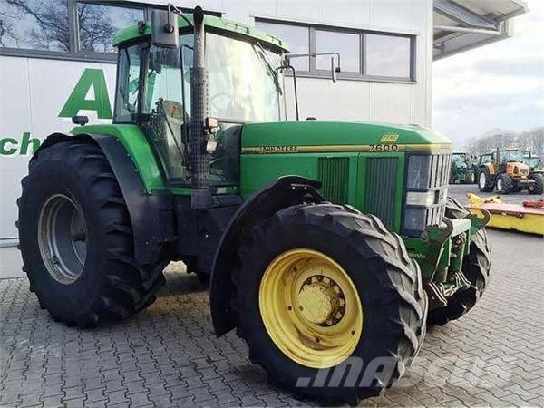 Used John Deere 7600 tractors Year: 1994 Price: $17,816 ...