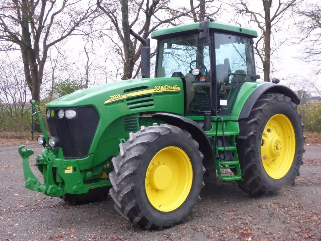 John Deere 7820 Premium - Tractors, Price: £37,213, Year ...