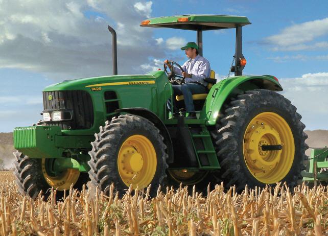 Tractor John Deere 7425