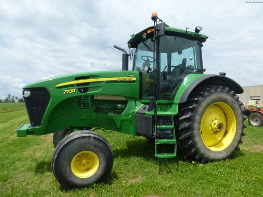 John Deere 7730 Tractors - Row Crop (+100hp) - John Deere ...