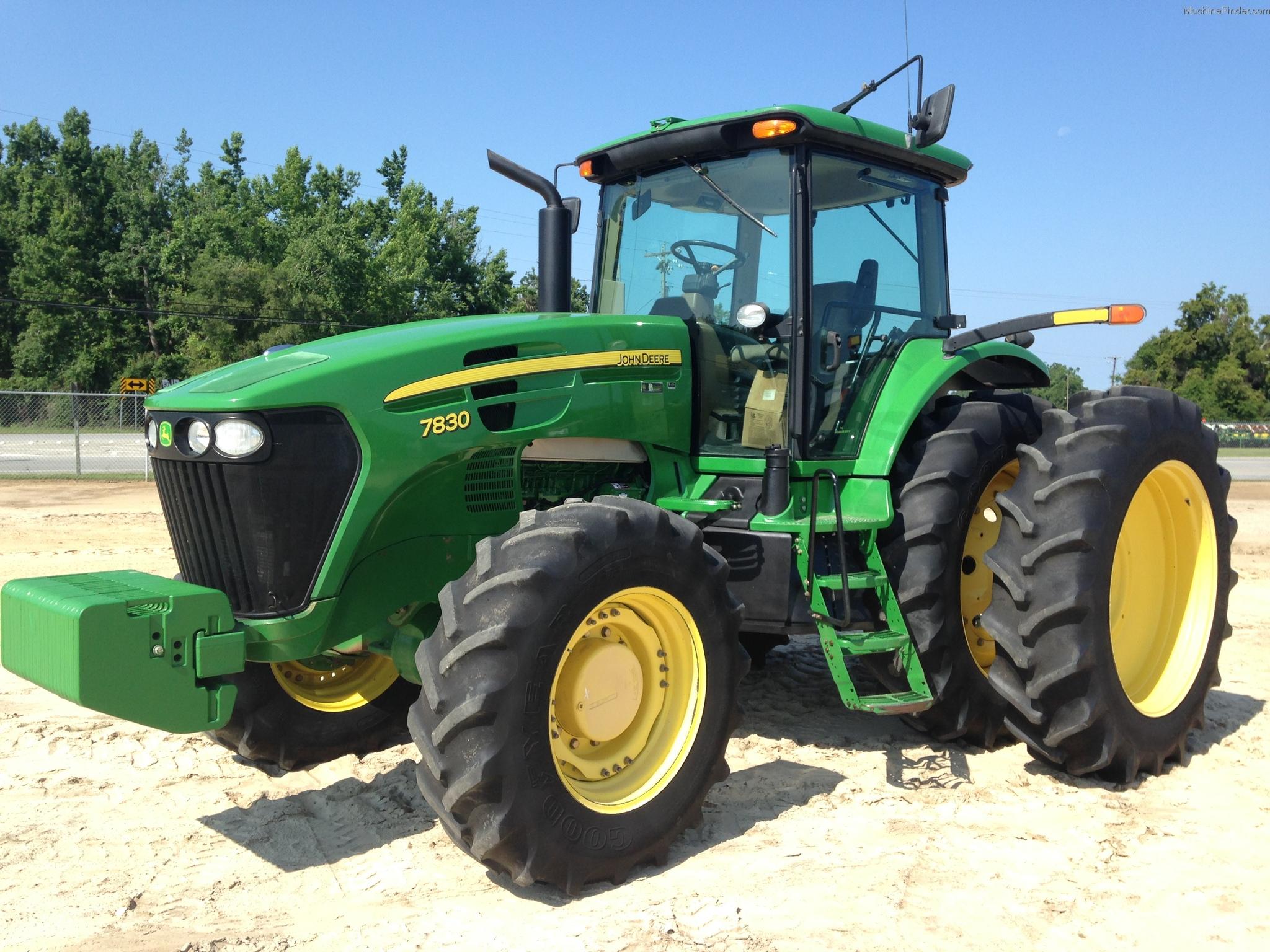 2010 John Deere 7830 Tractors - Row Crop (+100hp) - John ...