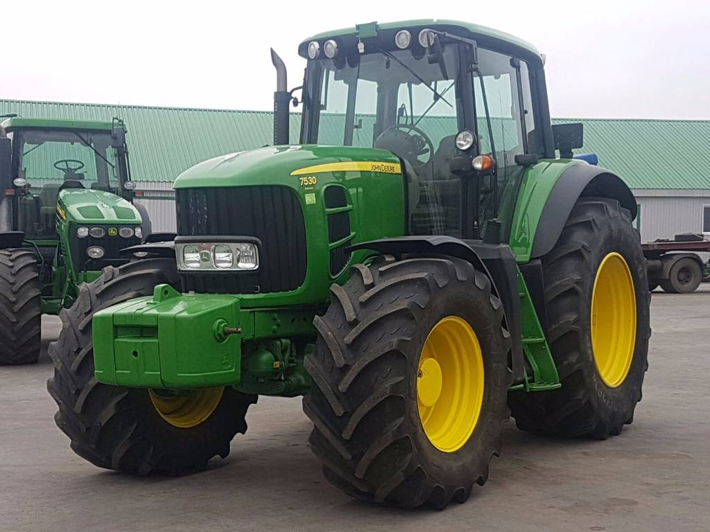 Used John Deere 7530 tractors Year: 2009 Price: $2,001 for ...